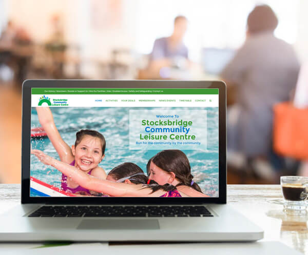 Great new website content management at Stocksbridge Leisure Centre.